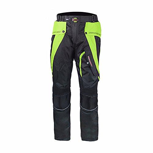 LKN Unisex und Motorrad Schutz Hosen-Hose wasserdicht warm herausnehmbares Futter alle Wetter