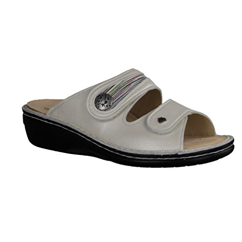 Finn Comfort Mira de lit S Mules avec pieds Blanc - Blanc