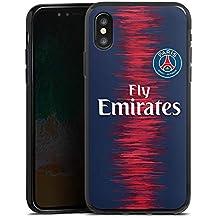 coque iphone x psg noir
