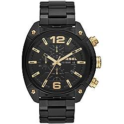 Diesel Reloj Cronógrafo para Hombre de Cuarzo con Correa en Acero Inoxidable DZ4504