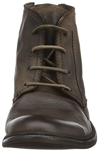 FLY London Herren Hobi813fly Kurzschaft Stiefel Braun (Coffee 001)