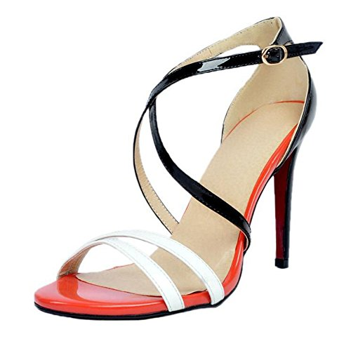Donne Donne Donne Donne Donne Eleganti Elegante Sandali Di Elegante Elegante Red