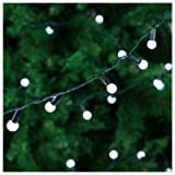 100 White Berry LED Christmas Lights Indoor / Outdoor