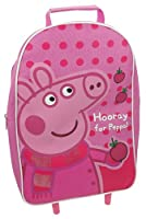 Peppa Pig Hooray for Peppa Wheeled Bag