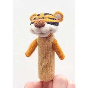 Fingerpuppe Tiger