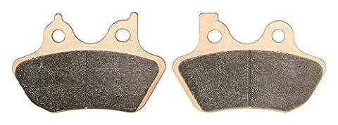 Vorne Links Sintering Bremsbacken Pad for HARLEY DAVIDSON Street FXDS 1450 Dyna Convertible 00 01 02 2000 2001 2002 1 Pair(2 Pads)
