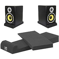 MKS Audio EPP005Par de almohadillas de aislamiento para altavoces de monitores