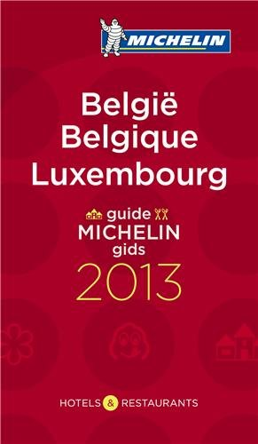 Guide Michelin Belgique Luxembourg 2013