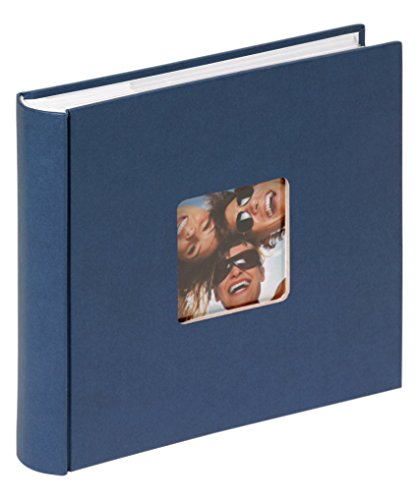 walther design ME-110-L Fun Memo-Album, blau, 200 Fotos, 10 x 15 cm 110 Foto