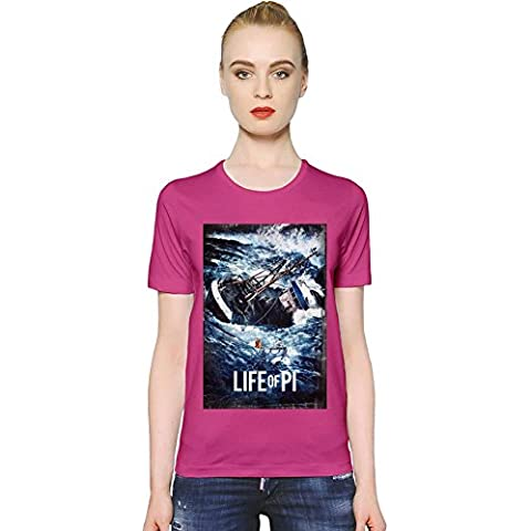 Life Of Pi Storm T-shirt donna Women T-Shirt Girl Ladies Stylish Fashion Fit Custom Apparel By Slick Stuff