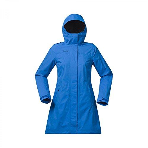 Bergans Venli Lady Coat - Damen Regenmantel Blau