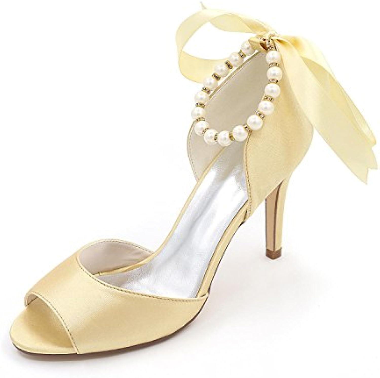 Elegant high shoes Chenxia Mujeres Primavera Verano Otoño Invierno Plataforma Boda Y Noche Plata estilete Plataforma... -