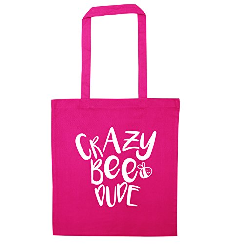 Crazy bee dude tote bag - Rosa Bumble Bee