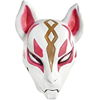 Mallalah Fox Mask 3D Impreso Cosplay Latex Casco para Halloween Máscara de Halloween Máscara para Fiesta