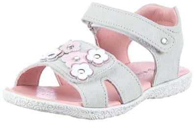 Richter Kinderschuhe Sissi 72.5506.4891, Mädchen Sandalen/Fashion-Sandalen, Grau (mouse/babypink/weiß/fuchsia), EU 27