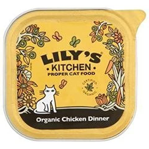 Lily's Kitchen Organic Chicken Dinner For Cats 100g by Lily's Kitchen