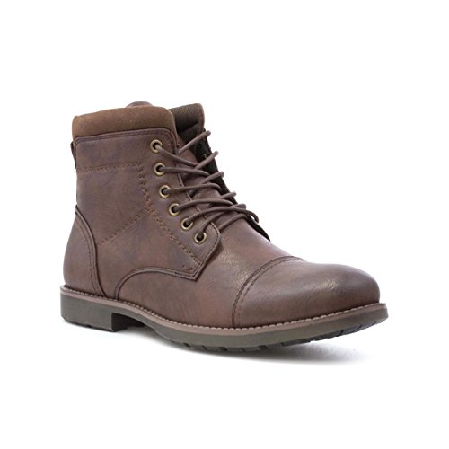 Beckett Mens Brown Lace Up Ankle Boot - Size 10 UK -...