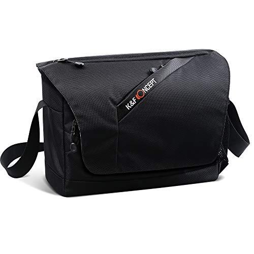 K&F Concept Kameratasche Umhängetasche Spiegelreflex DSLR SLR Fototasche für Spiegelreflexkamera und Zubehör