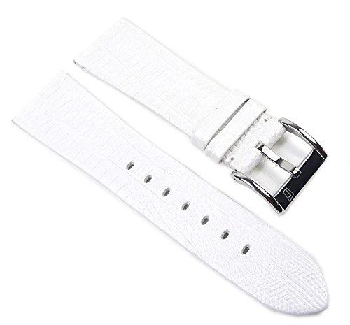 Festina Ersatzband Uhrenarmband Leder Band weiß 23mm F16465/1 F16465/