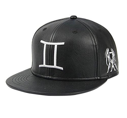 niseng-moda-ajustable-gorra-de-beisbol-bordado-zodiaco-sombrero-de-sol-para-parejas-geminis