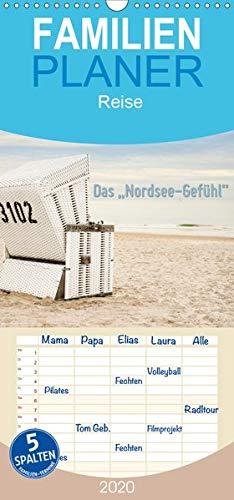 """Das\""""Nordsee-Gefühl\"""" - Familienplaner hoch (Wandkalender 2020, 21 cm x 45 cm, hoch)"""