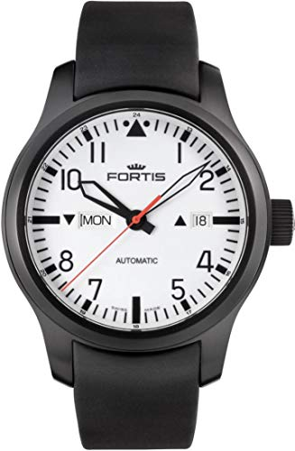 Fortis B-42 Nocturnal 655.18.12.K Automatic Mens Watch Excellent readability