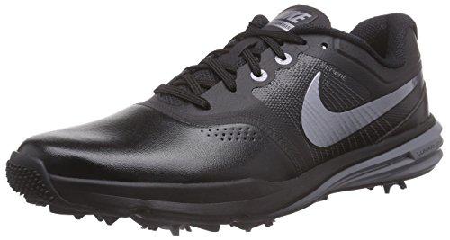 Nike Herren Lunar Command Golfschuhe, Schwarz (black / Metallic Cool Grey / Cool Grey), 44 EU