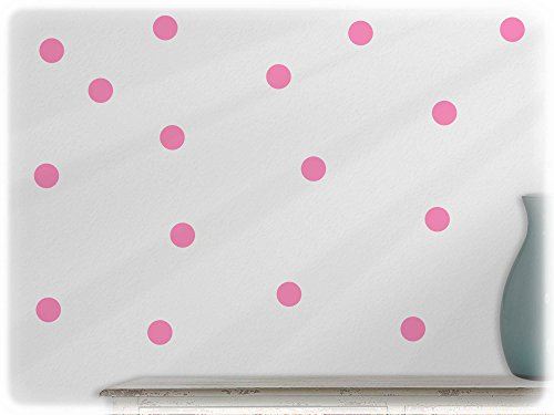 wall-sticker-pack-of-54-polka-dots-45-hellrosa