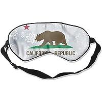 Preisvergleich für MaMa California Flag 99% Eyeshade Blinders Sleeping Eye Patch Eye Mask Blindfold For Travel Insomnia Meditation