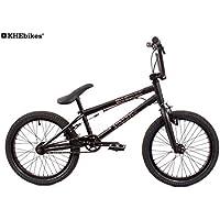 KHE BMX Fahrrad Arsenic 18 Zoll schwarz mit Affix Rotor nur 10,1kg!