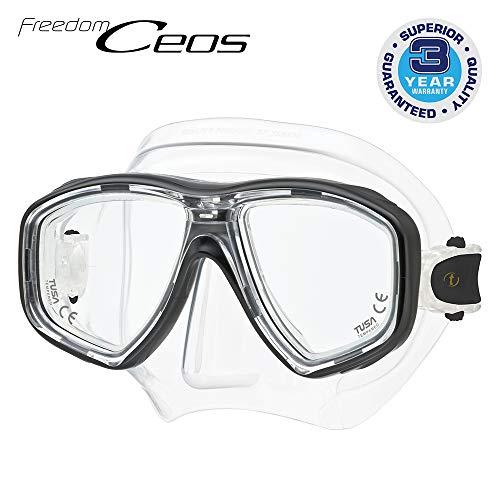 Taucherbrille Tusa Freedom Ceos - tauchmaske korrektur optische Gläser kompatibel