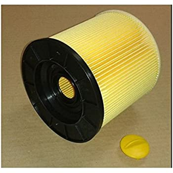 3 Round Cartridge Filter Fin Filter Suitable For Kärcher Wd