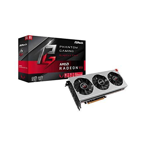 ASRock Phantom Gaming X Radeon VII 16GB Grafikkarte, 4096-bit HBM2, PCIe, silber