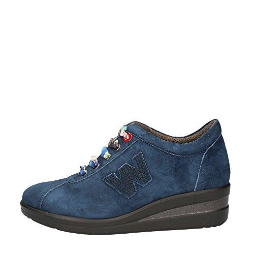 Melluso R0806 Sneakers Donna Camoscio Denim Denim 35