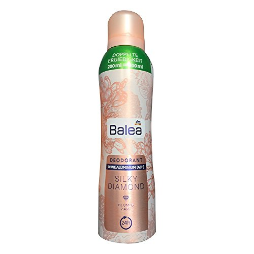 Balea Deo Spray Deodorant Silky Diamond, 200 ml Flasche (1er Pack)