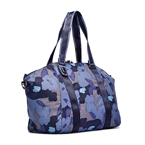 Pacsafe Citysafe CX Tote, Shopper, große Schultertasche mit Diebstahlschutz, Orchideen Blau/Orchid Blue