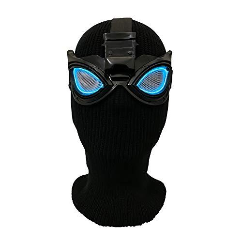 CHXY Spiderman Expedition Maske Kind Erwachsener Helm Halloween Mottoparty Cosplay Karneva Herren Held Vollen Kopf Deluxe - Spiderman Kostüm Drucken