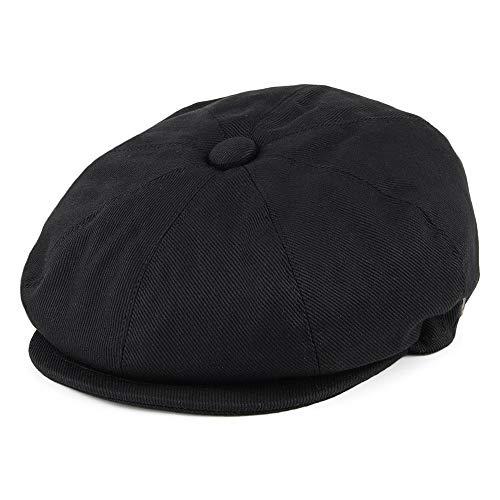 mütze aus Baumwolle - Schwarz - XXL ()