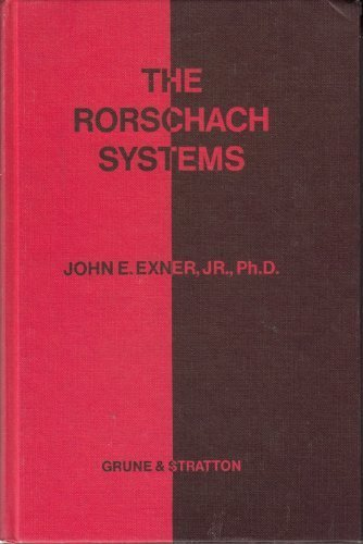 Rorschach Systems by John Exner (1969-06-01)