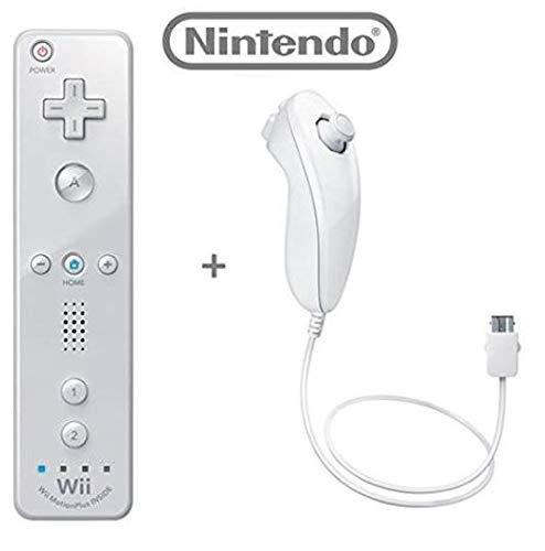 Wii Remote Plus + Wii Nunchuk Controller Set für Nintendo Wii (WII) Z3 lose -