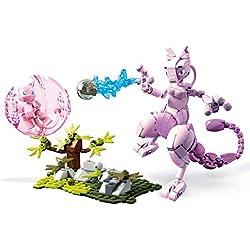 Mega Construx FVK77 - Construx Pokemon Mew vs. Mewtu, Spielzeug ab 8 Jahren