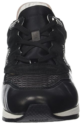 Geox D Shahira B, Low Athletic Sneakers Black (negro)