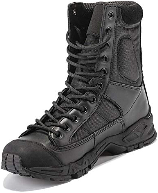 Gtagain Impermeabile Escursionismo Trekking - Scarpe da Uomo Stivali Stringate Stivali Militare Tattico Cuoio... | Prezzo giusto  | Uomo/Donne Scarpa