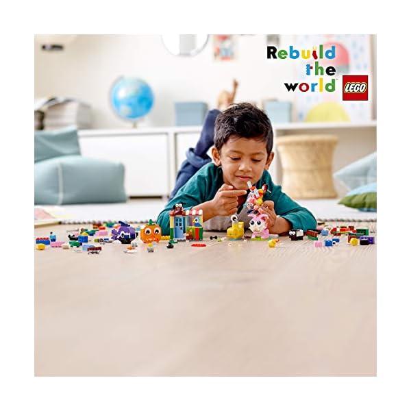 LEGO Classic 11003 Mattoncini e Occhi Set di Costruzioni Creativo, Regalo per Bambini +4 Anni 5 spesavip