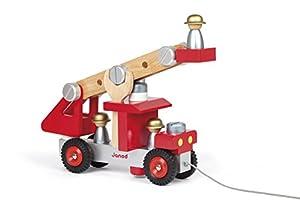 Janod - Construye tu camión de Bomberos (J06498)