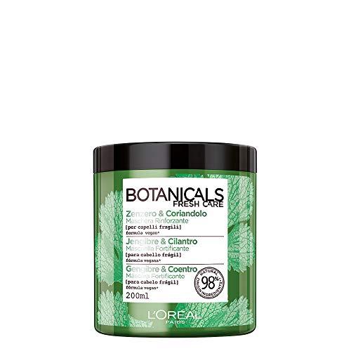 LOréal Paris Botanicals Coriandolo Fonte di Forza Maschera per Capelli Fragili o Danneggiati 200 ml