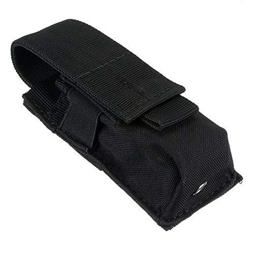 FJYBOA Rucksack Einzelne Pistolenmagazintasche Messer Taschenlampe Hülle AirsoftAmmo Molle Pouch Multifunktionsbeutel Neu