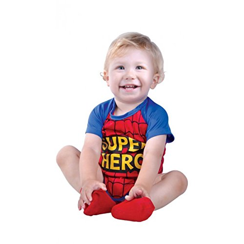 Superheroe Kostüm - Kostüm von superhéroe 12-24 Monate