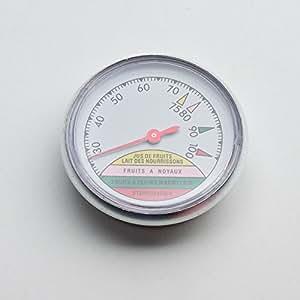 Guillouard 012660 Thermomètre à Cadran pour Stérilisateur