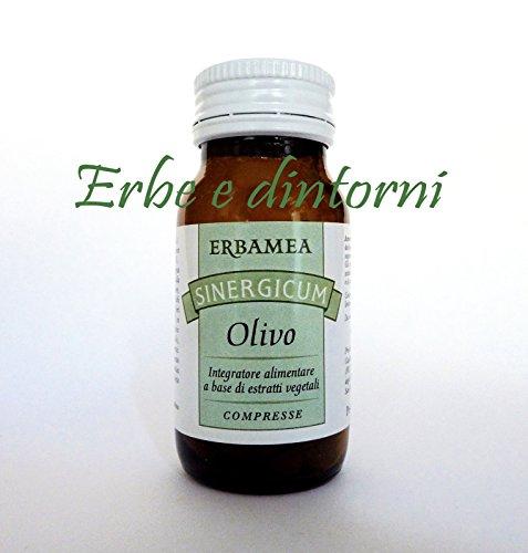 OLIVO SINERGICUM 50 compresse con Biancospino, Betulla, Aglio, Pressione alta, Ipertensione, Colesterolo, Circolazione